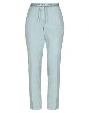 Повседневные брюки VIA MASINI 80. Цвет: светло-зеленый