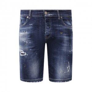 Джинсовые шорты PREMIUM MOOD DENIM SUPERIOR. Цвет: синий