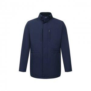 Утепленная куртка Corneliani. Цвет: синий