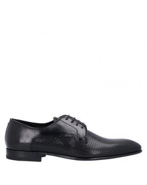 Обувь на шнурках FABI. Цвет: черный