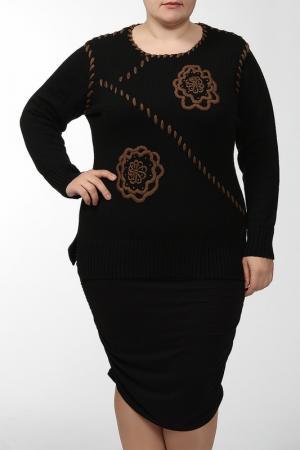Пуловер Alain Weiz. Цвет: черный, коричневый