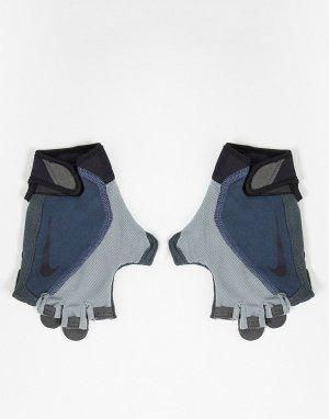 Серые фитнес-перчатки Mens Training Elemental-Серый Nike