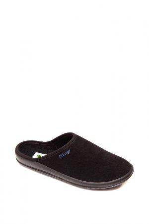 Домашняя обувь Dr.Luigi. Цвет: черный, жен