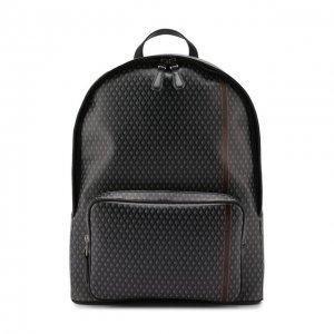 Текстильный рюкзак Dunhill. Цвет: серый