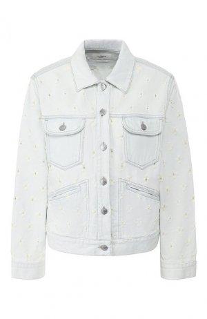 Джинсовая куртка Isabel Marant Etoile. Цвет: голубой