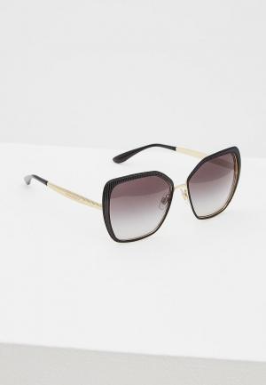 Очки солнцезащитные Dolce&Gabbana DG2197 13128G. Цвет: черный