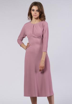 Платье Evercode. Цвет: розовый