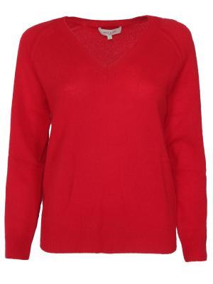 Пуловер из шерсти Paul & Joe. Цвет: красный