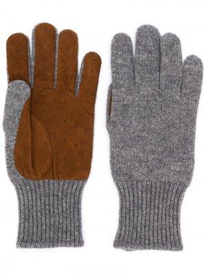 Перчатки с перфорацией Brunello Cucinelli