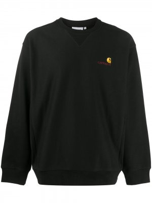 Толстовка с вышитым логотипом Carhartt WIP. Цвет: черный