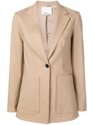 Tailored Wool Jacket 3.1 Phillip Lim. Цвет: нейтральные цвета