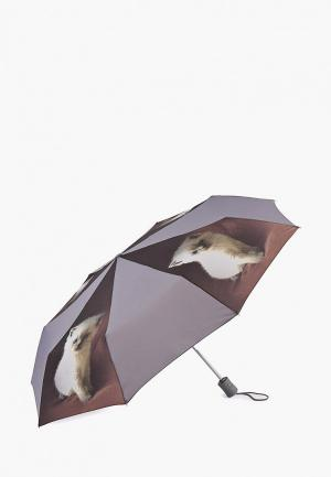 Зонт складной Fulton. Цвет: серый