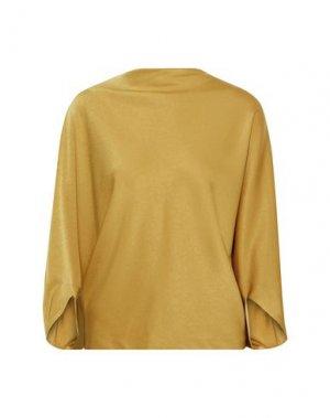 Блузка CHALAYAN. Цвет: охра