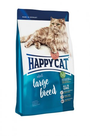 Сухой корм ддя кошек 0,3 кг HAPPY CAT. Цвет: белый