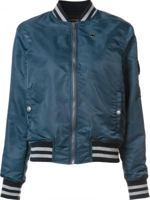 Куртка бомбер Mother. Цвет: синий