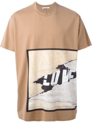 Футболки и жилеты Givenchy. Цвет: телесный