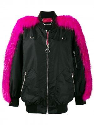 Куртка-бомбер Luxury Philipp Plein. Цвет: черный