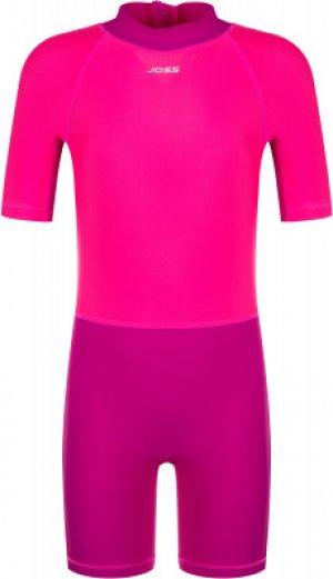 Плавательный костюм для девочек , размер 122 Joss. Цвет: фиолетовый