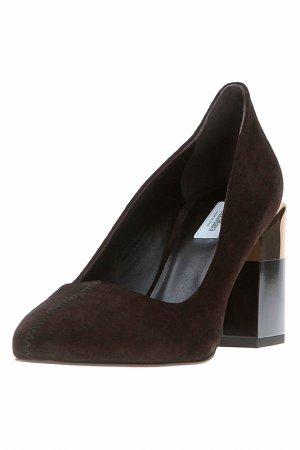 Туфли Max Mara. Цвет: коричневый