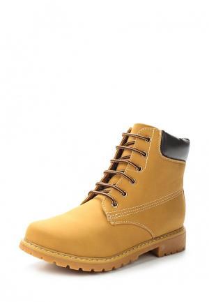 Ботинки Janessa. Цвет: коричневый