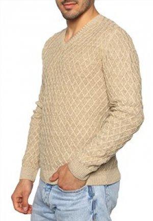 Пуловер FERRANTE. Цвет: коричневый