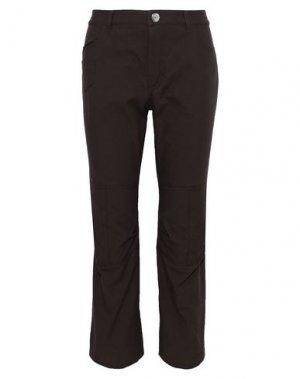 Повседневные брюки SONIA RYKIEL. Цвет: темно-коричневый