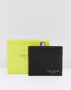 Кожаный бумажник Antony-Черный Ted Baker