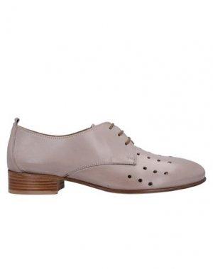 Обувь на шнурках CALPIERRE. Цвет: голубиный серый