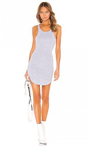 Платье-майка shea Frankie B. Цвет: серый