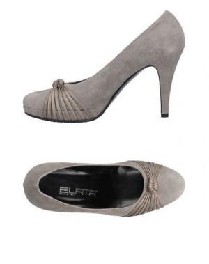 Туфли ELATA. Цвет: светло-серый
