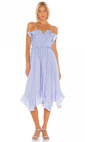 Платье presley Tularosa. Цвет: синий