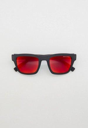 Очки солнцезащитные Armani Exchange AX4088S 82946Q. Цвет: черный