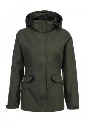 Куртка Trespass DEVOUR. Цвет: зеленый