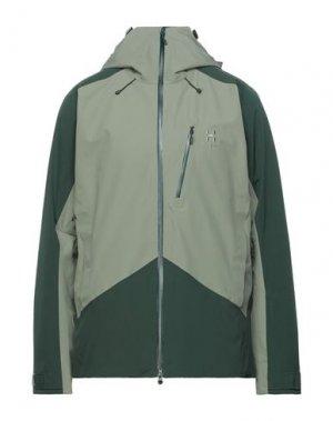 Куртка HAGLÖFS. Цвет: зеленый