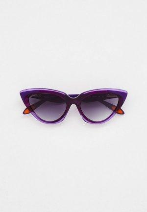 Очки солнцезащитные Baldinini BLD 2123 PF 404. Цвет: фиолетовый
