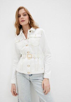 Куртка джинсовая Pinko. Цвет: белый