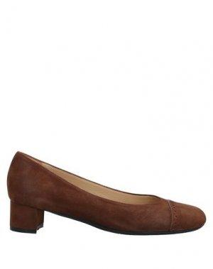 Туфли ANTONIO BARBATO. Цвет: коричневый