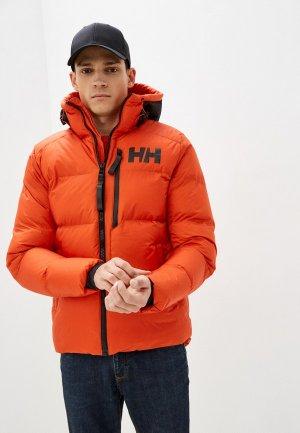 Куртка утепленная Helly Hansen ACTIVE WINTER PARKA. Цвет: оранжевый