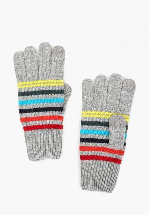 Перчатки Gap. Цвет: серый