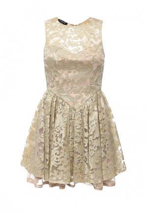 Платье Bebe. Цвет: золотой