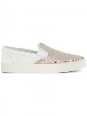 Carter slip-on sneakers Tory Burch. Цвет: белый