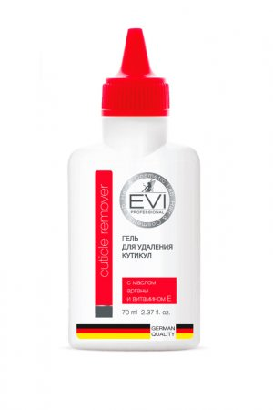 Гель для удаления кутикулы EVI professional. Цвет: белый