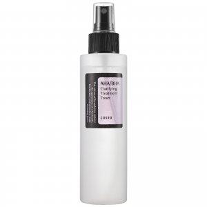 Мягкий очищающий тоник-спрей с кислотами COSRX AHA/BHA Clarifying Treatment Toner 150 мл