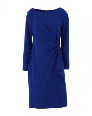 Платье до колена DKNY. Цвет: ярко-синий