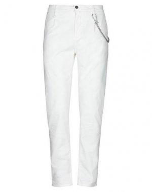 Повседневные брюки ANTONY MORATO. Цвет: белый