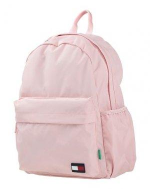 Рюкзак TOMMY HILFIGER. Цвет: светло-розовый