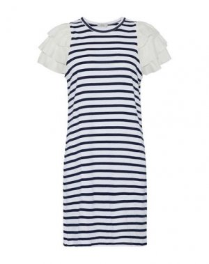 Короткое платье CLU. Цвет: белый