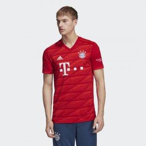 Домашняя игровая футболка Бавария Мюнхен Performance adidas. Цвет: красный