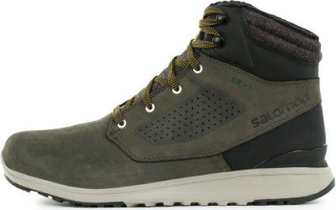 Ботинки утепленные мужские Utility Winter, размер 41.5 Salomon. Цвет: зеленый