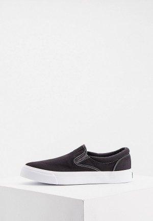 Слипоны Polo Ralph Lauren SLIP ON BRYN-SNEAKERS-SLIP. Цвет: черный